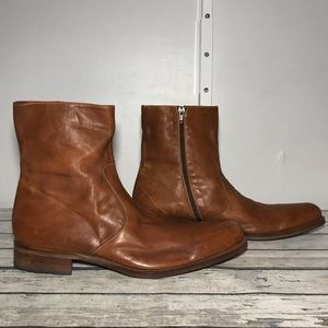 Magnanni Leather Ankle Boots Size 14